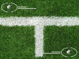 Textures Texture seamless | Green synthetic grass sports field with white line texture seamless 18711 | Textures - NATURE ELEMENTS - VEGETATION - Green grass | Sketchuptexture