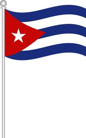 Flag Of Cuba, Flag, Cuba