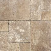 """Found it at Wayfair - 18"""" x 18"""" Honed And Filled Travertine Tile in Tuscany Walnut"""