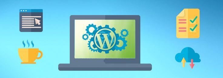15 Pasos para instalar y configurar WordPress en tu servidor.  http://aulacm.com/instalar-configurar-wordpress/