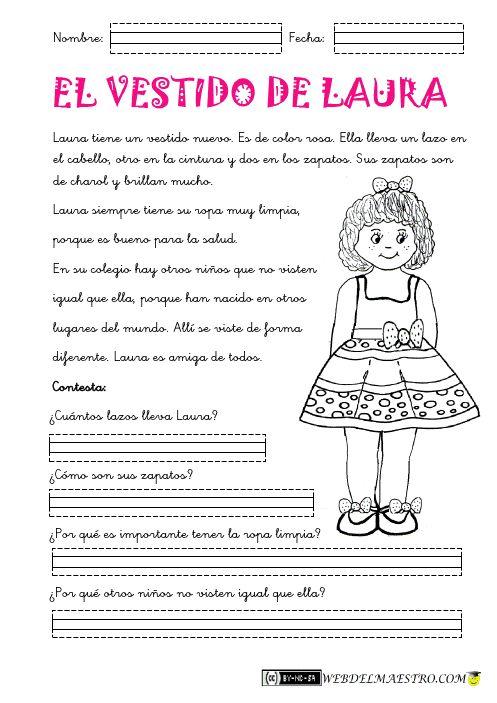 Lectura comprensiva Archivos - Web del maestro - Educación Infantil y Primaria