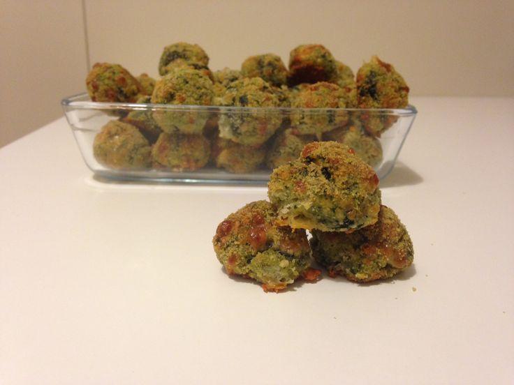 Polpette di spinaci (ricetta finger food vegetariana)