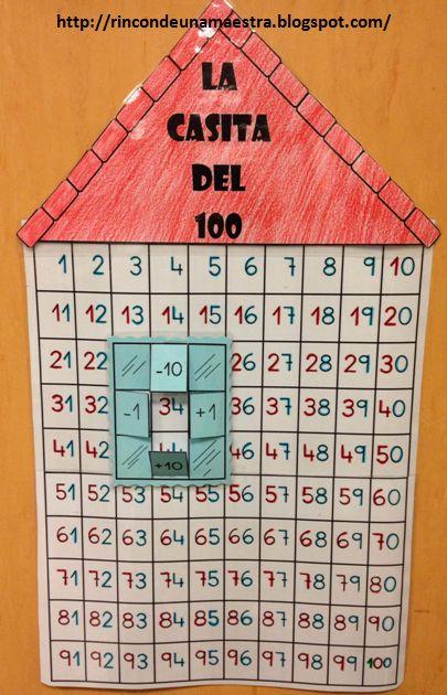 Rincón de una maestra: La casita del 100