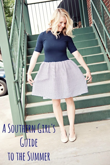 I maybe a northern girl all the way, but I enjoyed this A Southern Girls Guide to the Summer