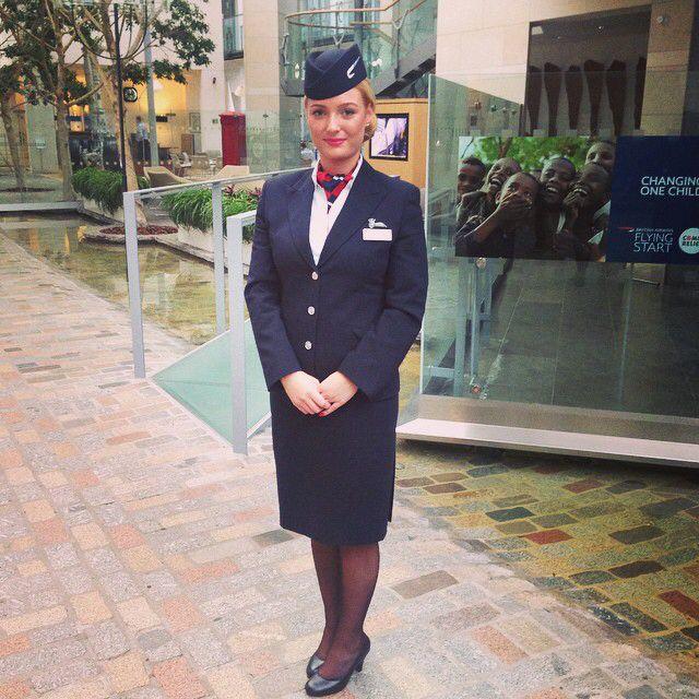 Proud ☺️ #wingsday #britishairways #cabincrew
