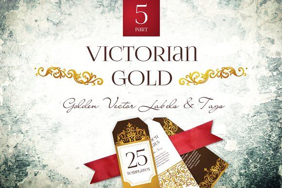 Victorian Gold Vol.5 by O'Gold! on @creativemarket