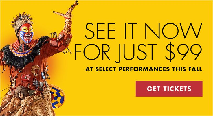Disney THE LION KING | Broadway Tickets