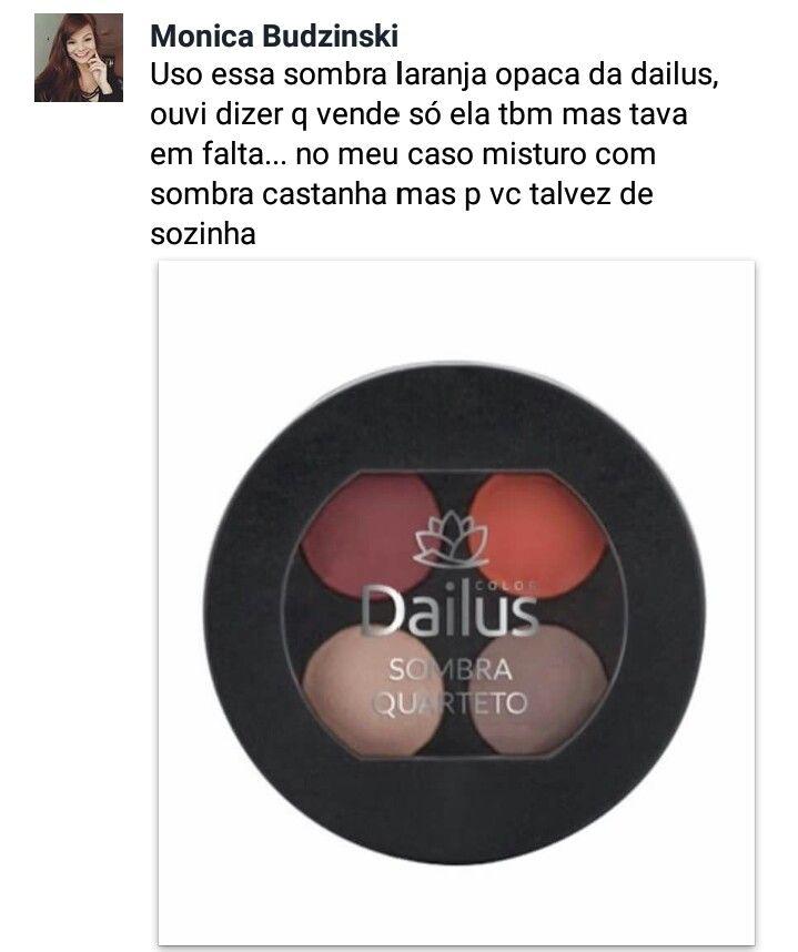 Sombra para preencher sobrancelha ruiva...#dailus #quartetodesombra