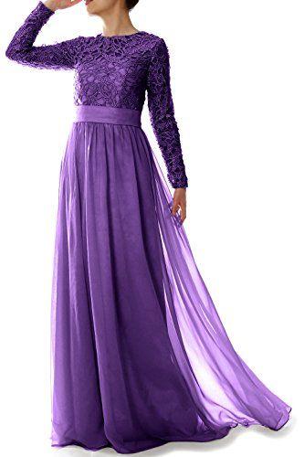 Formal dresses · MACloth Elegant Long Sleeve Mother Of Bride Dress Lace  Fo... https:/