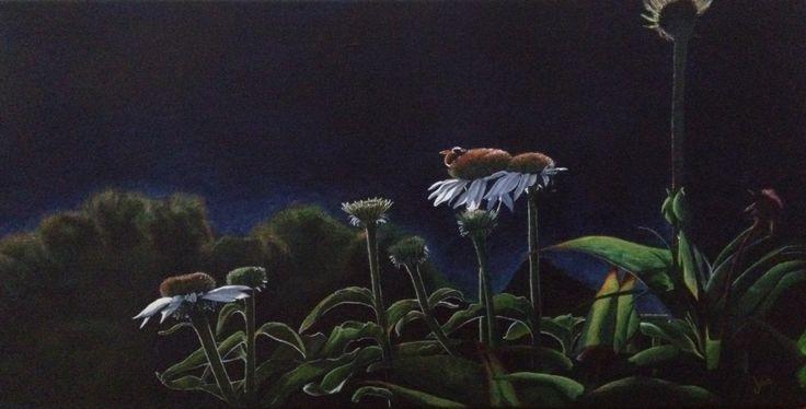 """Evening Shift"" (J.Lee, acrylic 2014)"