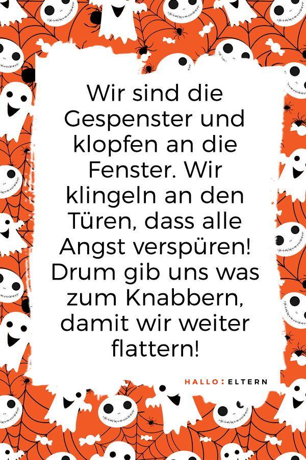 Halloween Sprueche Kinder.30 Halloween Spruche Fur Kleine Geister Und Monster Halloween Spruche Halloween Geister