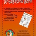 THIS IS NOT A SEASONAL NEWSPAPER--NO MENTION OF CHRISTMAS, SANTA CLAUS, ELVES, ETC. About the Activities The Gingerbread Gazette (newspaper) Using ...
