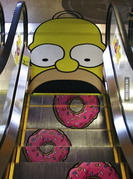 More escalators should have designs like this.