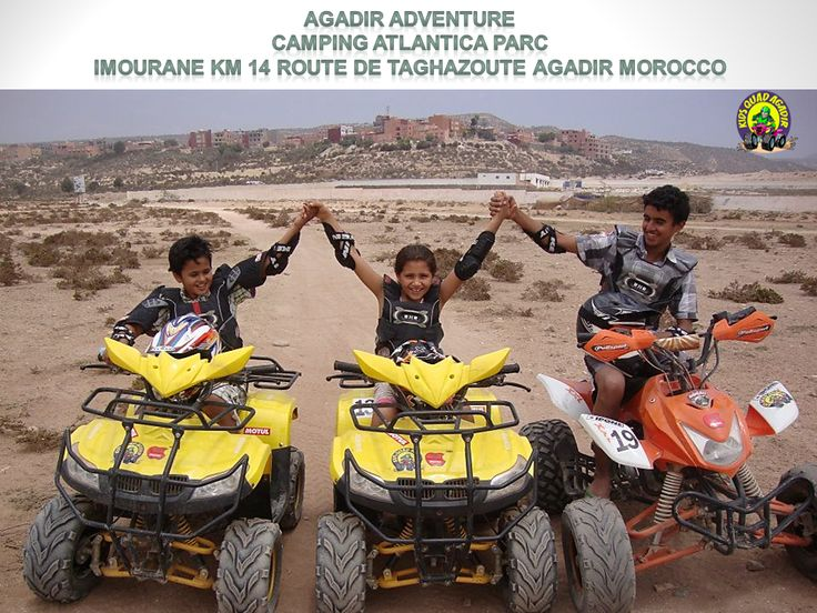 Kids Quad Agadir is our department specifically dedicated to children and the youth aged 4 and up.