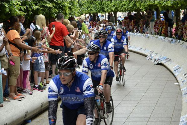 Police Unity Tour 2014 #policeweek #NLEOMF cannot wait to do this again!