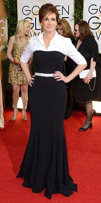 Julia Roberts in Dolce & Gabbana at The 2014 Golden Globes