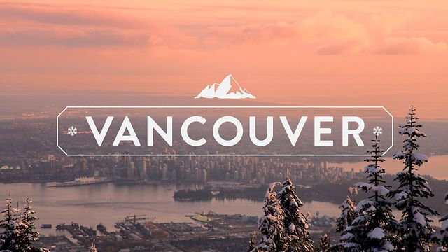 Live The Language: Vancouver. Beautiful #typography exploring #Vancouver, British Columbia, Canada.