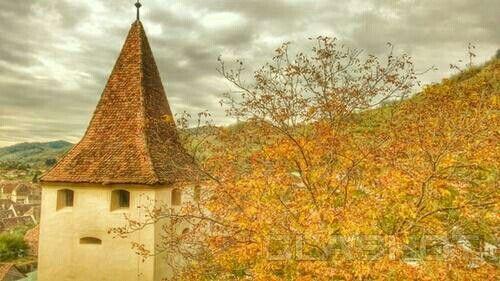 Turnul de aparare din Biertan