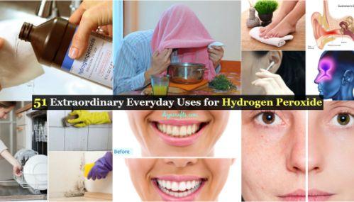 51 Buitengewone Everyday toepassingen voor waterstofperoxide