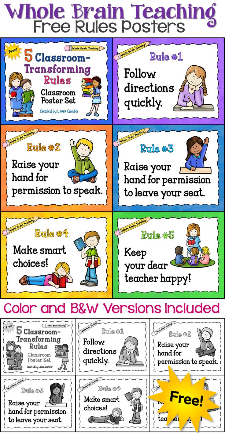 Getting Started with Whole Brain Teaching - Download this free set of posters and learn where to find resources for Whole Brain Teaching.