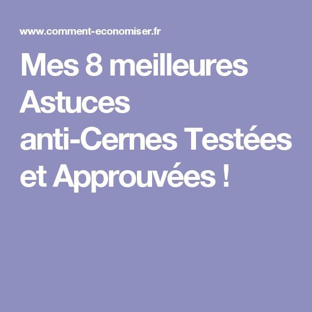 Mes 8 meilleures Astuces anti-Cernes Testées et Approuvées !