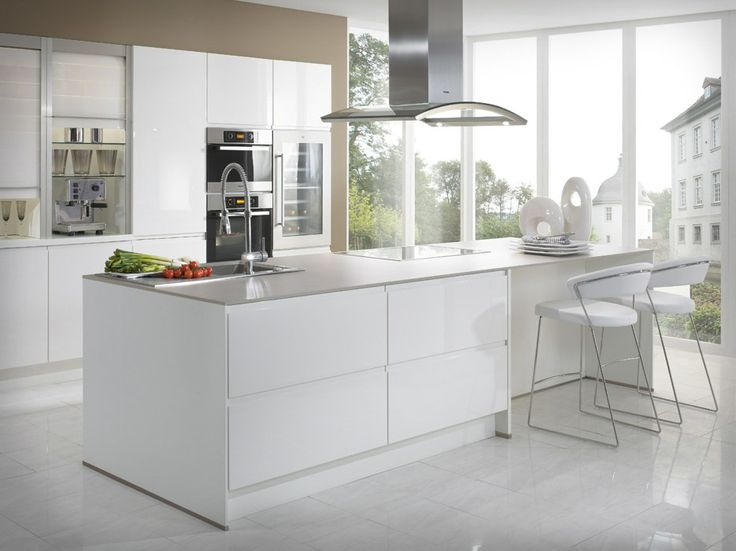 Modern Kitchen ideas 2014 White Marmer