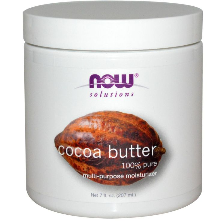 Now Foods, Solutions, Cocoa Butter, 7 fl oz (207 ml) - iHerb.com
