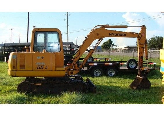 Hyundai R55 3 Mini Crawler Excavator Service Manual Hyundai Excavator Repair Guide