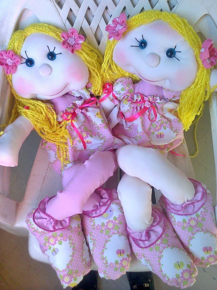 Hermosas muñecas soft patas largas..