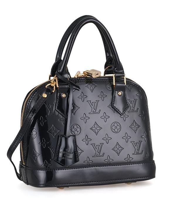 Louis Vuitton Monogram vernis black