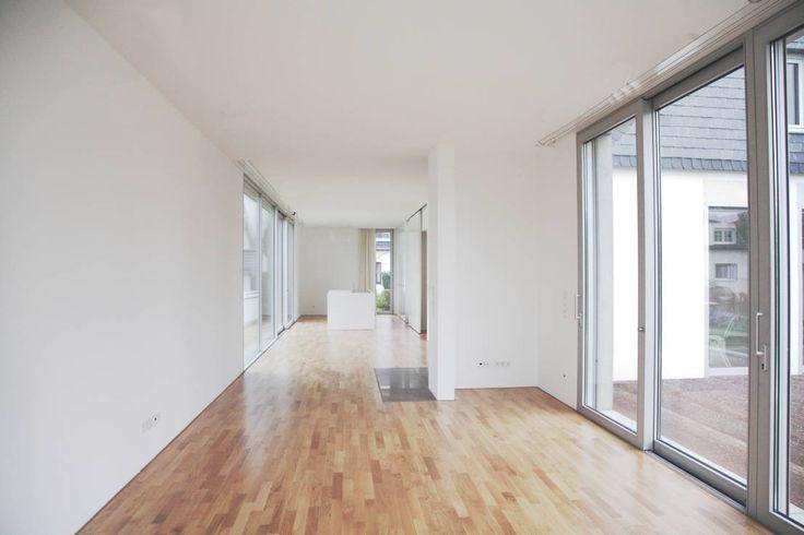 Einfamilienhaus in Duisburg : Moderne Wohnzimmer von Oliver Keuper Architekt BDA