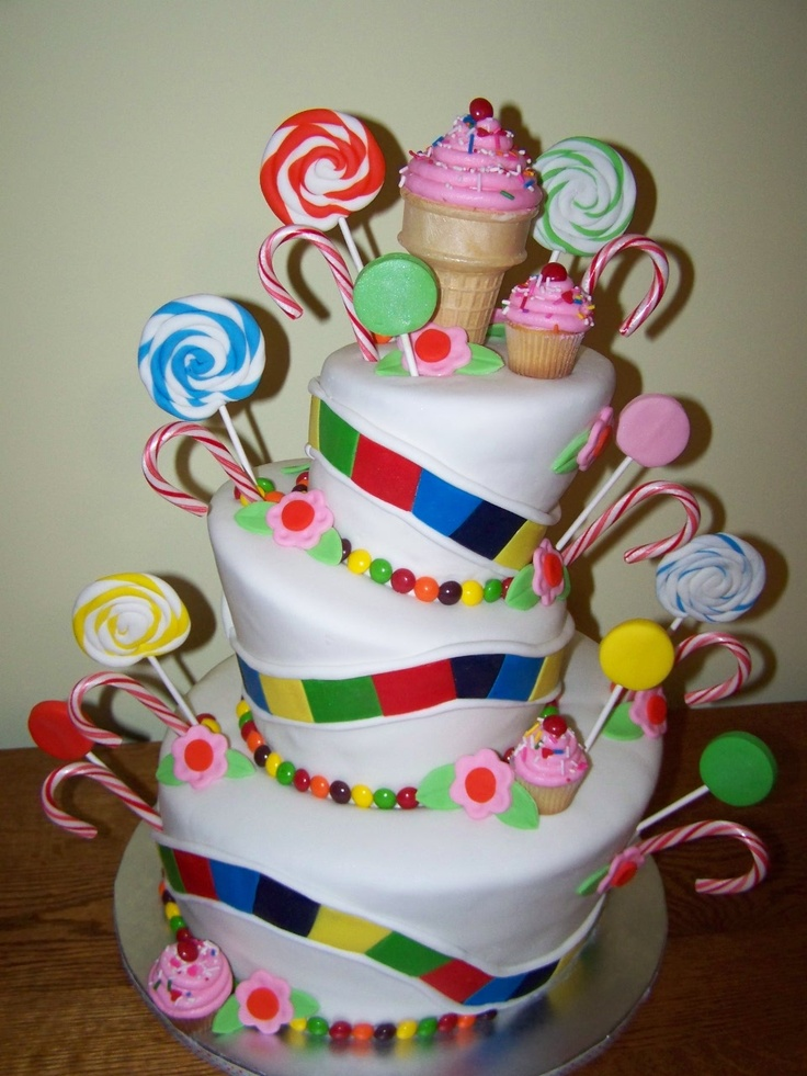 456 best Birthday cakes images on Pinterest Anniversary ideas