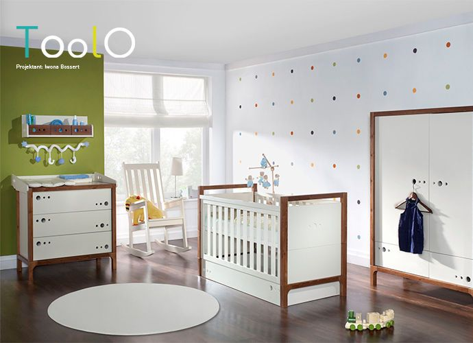 Pinio  Pokój dziecięcy biało - zielony