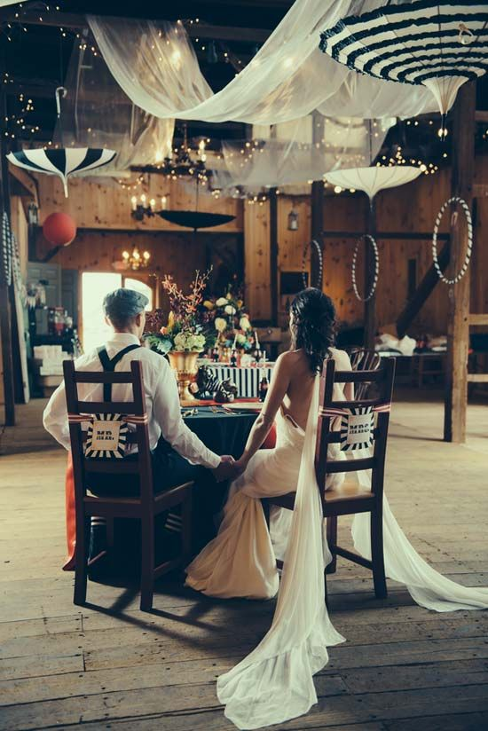 """the night circus"" themed wedding inspiration"
