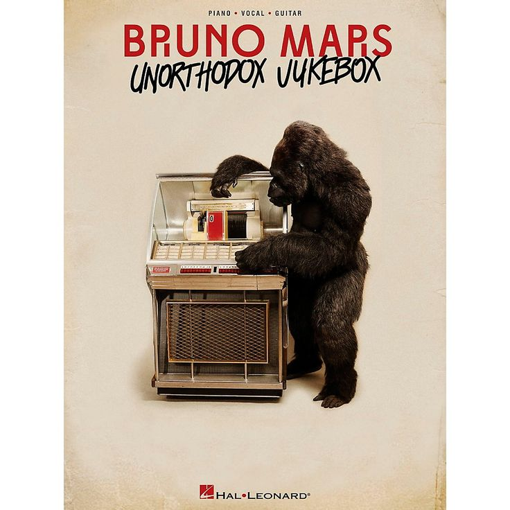 Hal Leonard Bruno Mars - Unorthodox Jukebox for Piano/Vocal/Guitar (PV