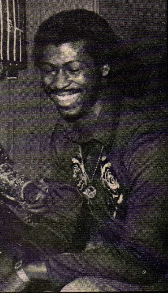 Teddy Pendergrass (Lead singer of Harold Melvin & the Blue Notes in the 1970s)
