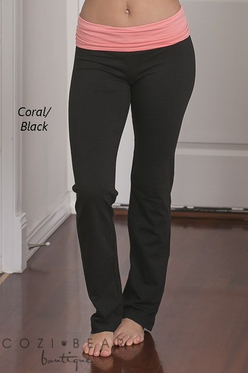 Best Selling Yoga Pants | 2 Styles | Contrast Color, Heather O ...