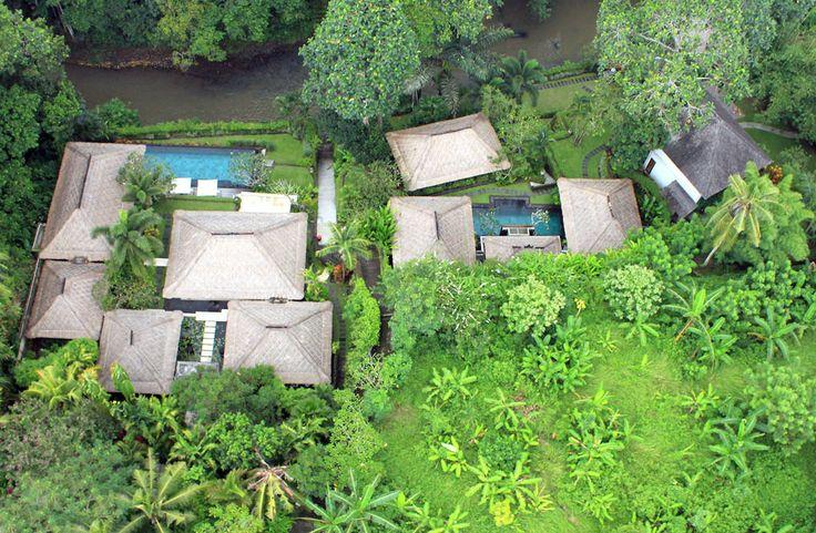 Villa Mawar | 6 bedrooms | Tabanan #Bali 15 minutes from #GregNorman Designed #Championship Nirwana #GolfClub #aerial #photo