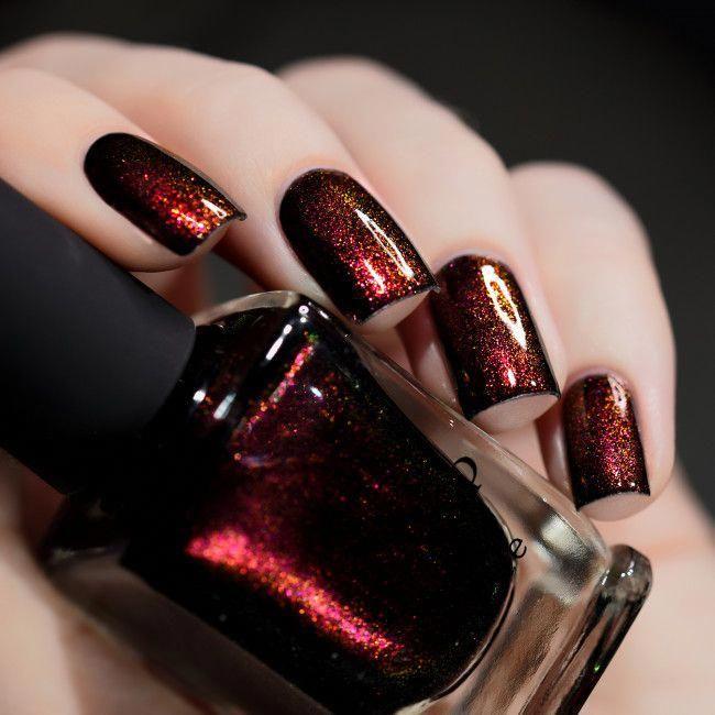I Love Nail Polish: Lights Out #acrylicnaildesigns