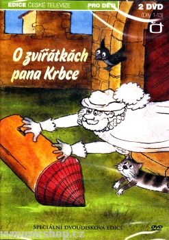 Oblíbený Večerníček České televize na DVD O zvířátkách pana Krbce.