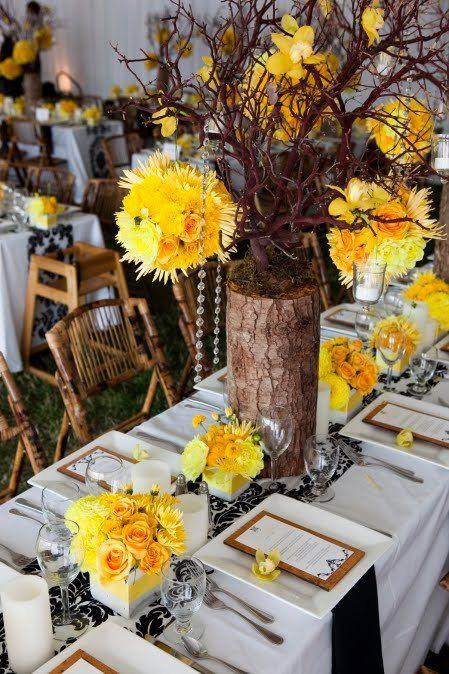 12 best yellow wedding ideas yellow weddings yellow wedding yellow brown and black wedding ideas yellow wedding color combinations yellow wedding theme junglespirit Gallery