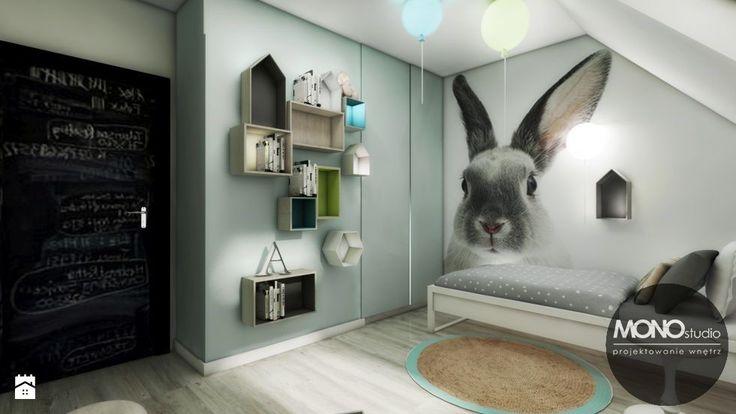 Dom w Zielonkach - zdjęcie od Monostudio Wnętrza - Pokój dziecka - Styl Skandynawski - Monostudio Wnętrza