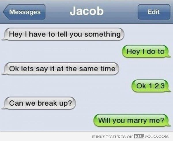 The Most Brutal Break-Up Texts Ever 0 - https://www.facebook.com/different.solutions.page
