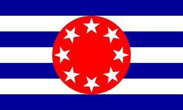 Flag of Ngarchelong state, Palau