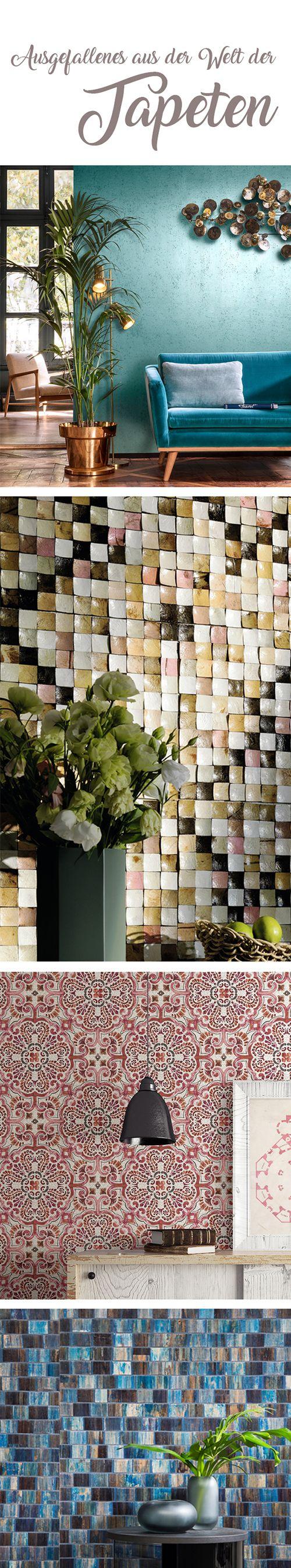 Auf der Suche nach einer ausgefallenen, hochwertigen und einzigartigen Tapete? Hier wirst du fündig! Wandverkleidungen für jeden Geschmack, die speziellen Materialien und die wunderbaren Strukturen lassen dein Interieur in neuem Glanz erstrahlen! Tapeten Hersteller: Arte. Elitis. Rasch Textil. Omexco. Wirz Tapeten AG