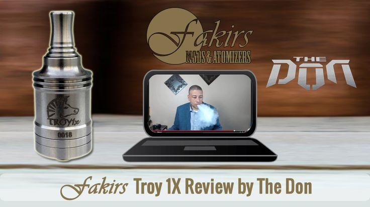 "Dear The Don was published review of Fakirs Troy 1X on YouTube at April 23, 2015.  Thanks to ""The Don"" for the awesome #Troy1X RDA review.  Enjoy it ⚠  #MeetTheFakirs #ecig #FakirsTroy1X #DatTroy1XDoe #vape #vapeon #highendmodsonly #vapelyfe #vapefam #vapearazzi #instavape #nwvapers #calivapers #eastcoastvapers #westcoastvapers #vapersuite #vapesirens #vapesiren #vapestagram #vapecommunity #vaporizer #vapeporn #vaporporn #vaporlife #vapelife #vapelove #dripaddicts #ecigreviews"
