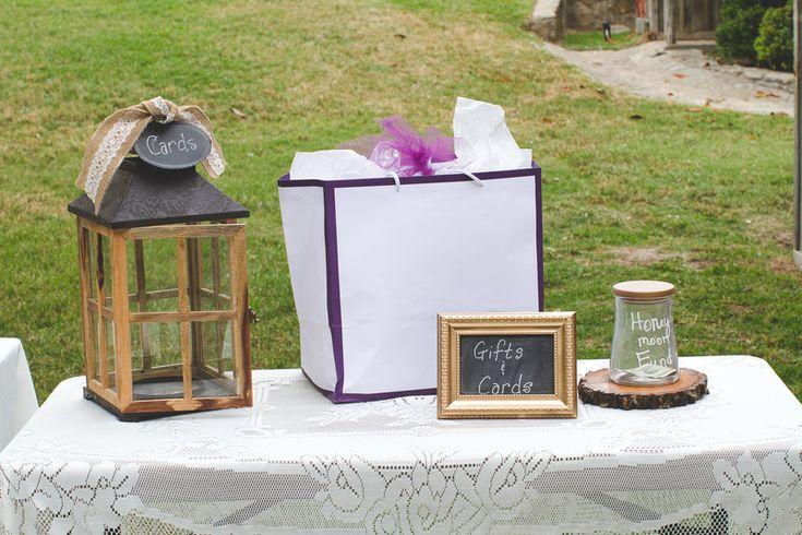 wedding card lantern gifts table frame chalkboard honeymoon fund jar ...