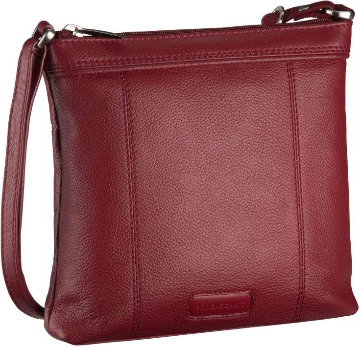 Taschenkaufhaus Bodenschatz Royal Nappa Zip Bag Damentasche Red - Umhängetasche: Category: Taschen & Koffer > Umhängetaschen >…%#Taschen%