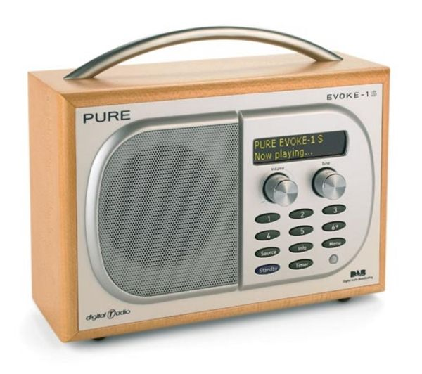 Pure Evoke 1s Portable Dab Radio - Mum's love of the golden oldies played on Capital Gold and other similar stations like are spoiled by the poor frequencies on her current basic model. I can just see this fab DAB radio on her kitchen worktop blasting out some of the best as she bakes her cakes on a Sunday, be lovely to treat her to some decent sound quality! :D x