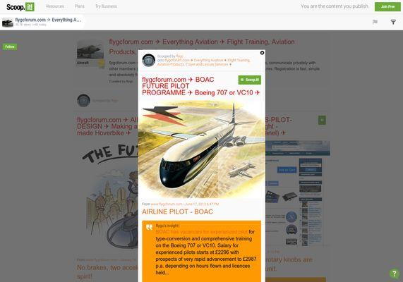 flygcforum.com ✈ BOAC FUTURE PILOT PROGRAMME ✈ Boeing 707 or VC10 ✈